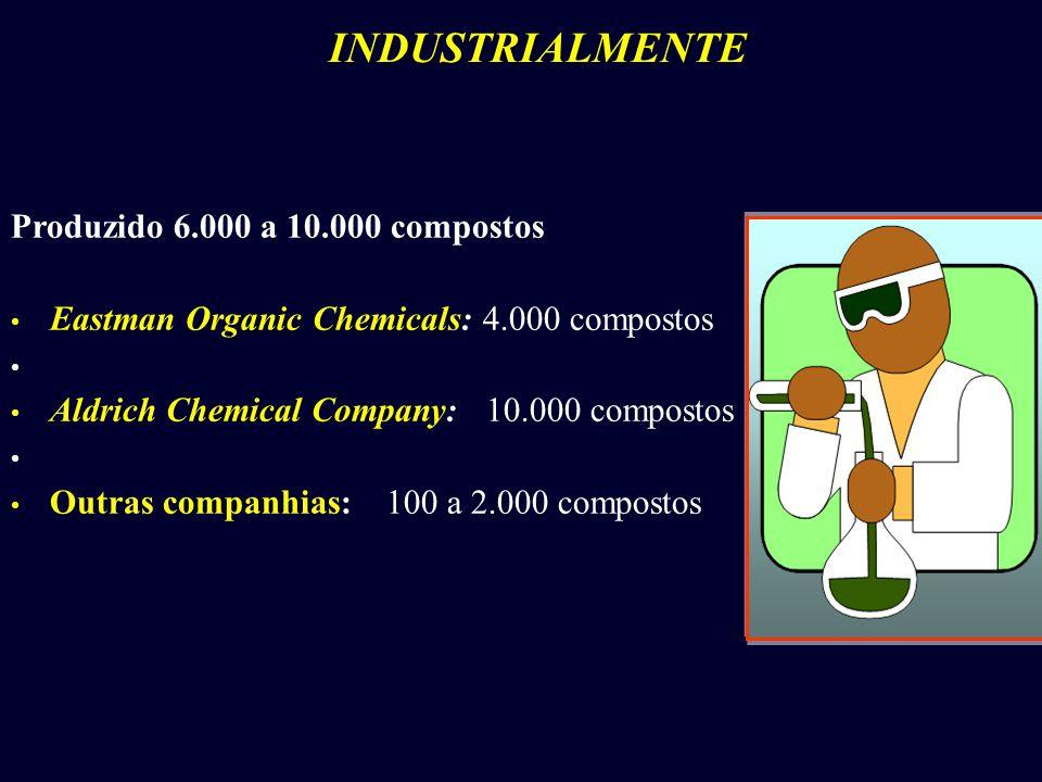 INDUSTRIALMENTE Produzido 6.000 a 10.000 compostos