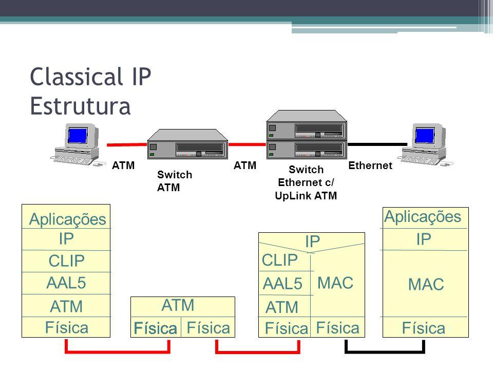 Classical IP Estrutura