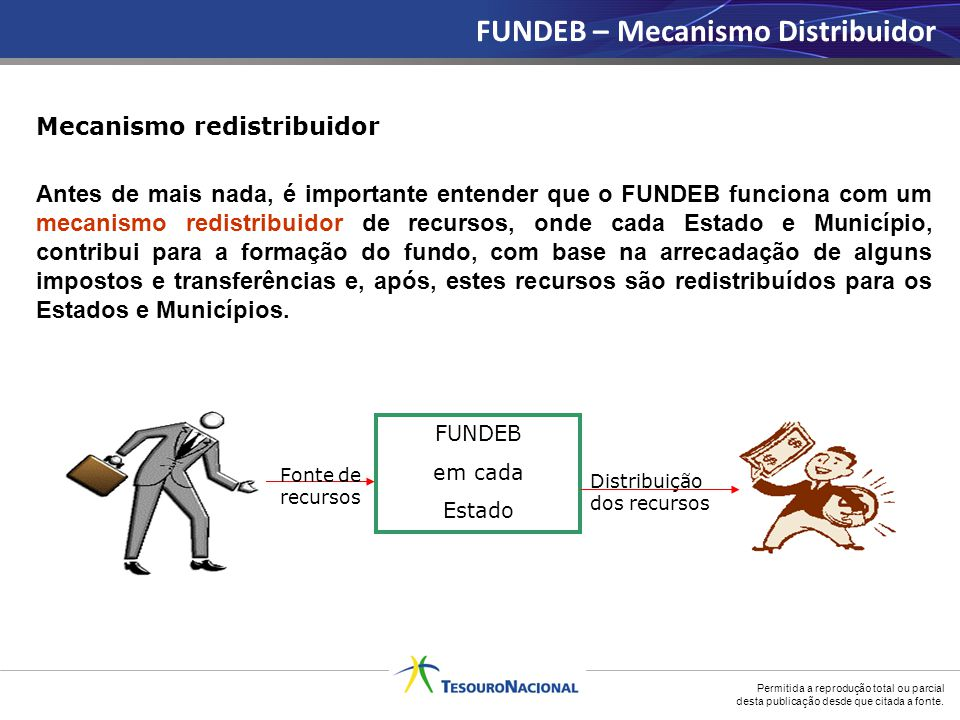 FUNDEB – Mecanismo Distribuidor
