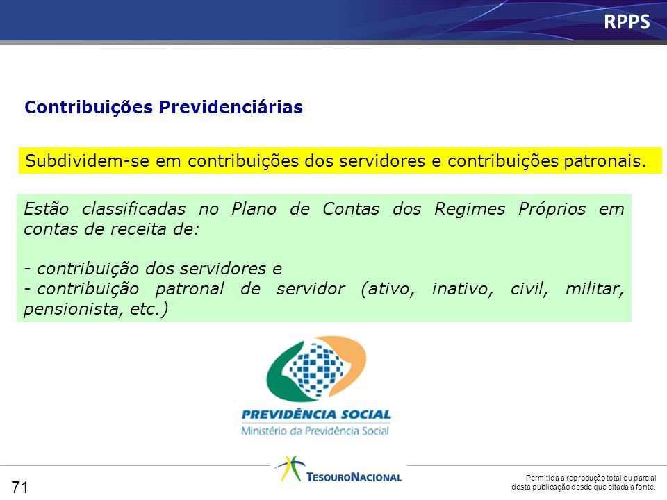RPPS Contribuições Previdenciárias