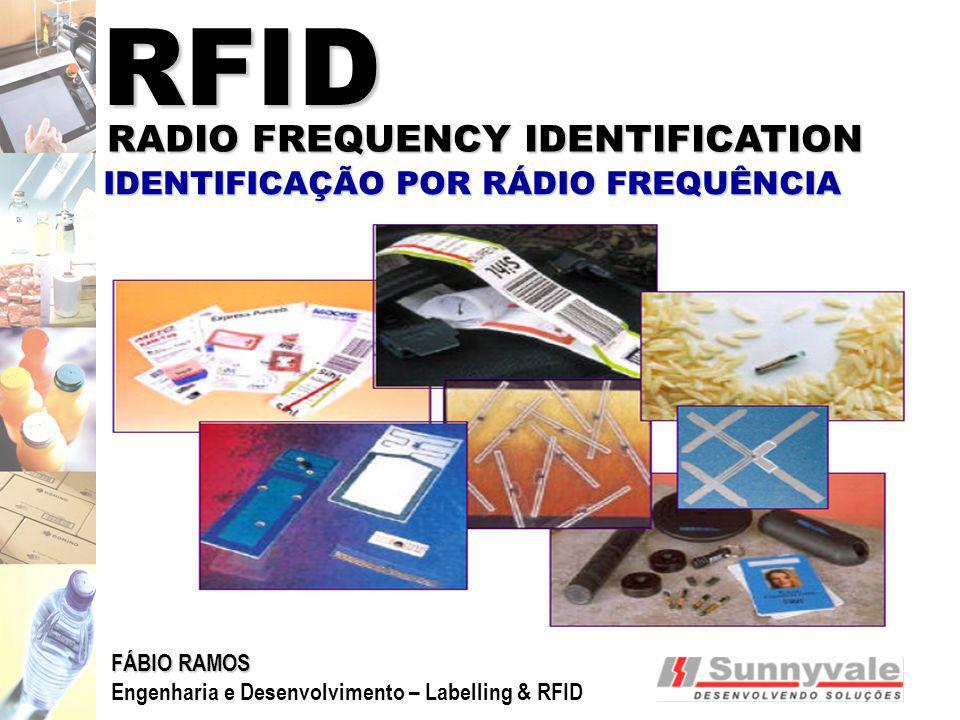 RFID RADIO FREQUENCY IDENTIFICATION IDENTIFICAÇÃO POR RÁDIO FREQUÊNCIA