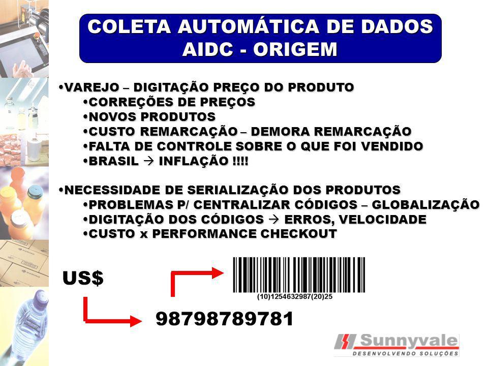 COLETA AUTOMÁTICA DE DADOS