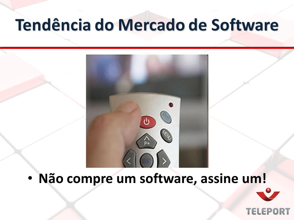Tendência do Mercado de Software