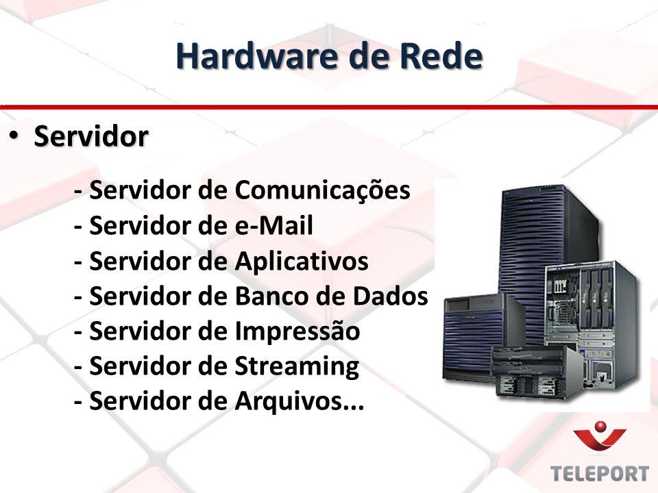 Hardware de Rede Servidor - Servidor de Comunicações