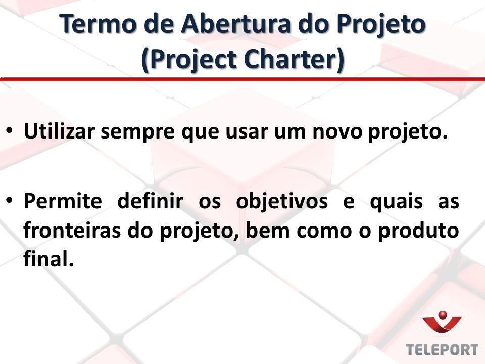 Termo de Abertura do Projeto (Project Charter)