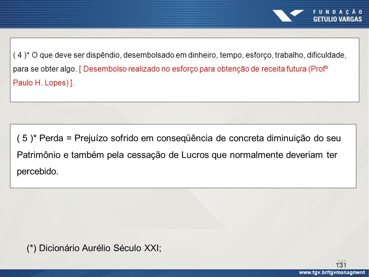 (*) Dicionário Aurélio Século XXI;