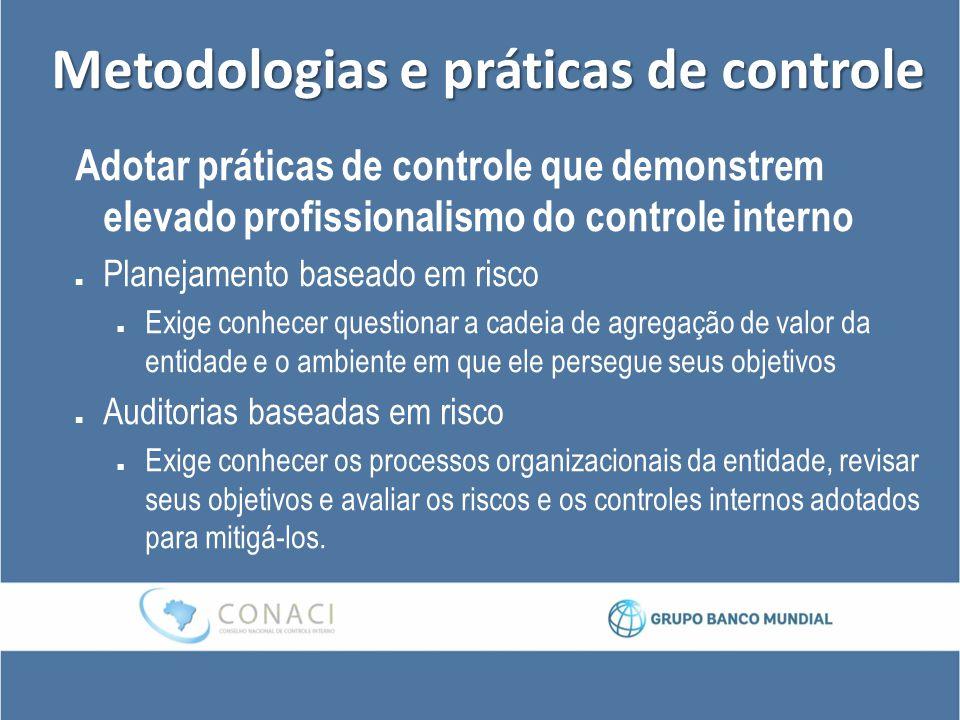 Metodologias e práticas de controle
