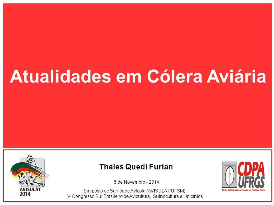 Atualidades em Cólera Aviária