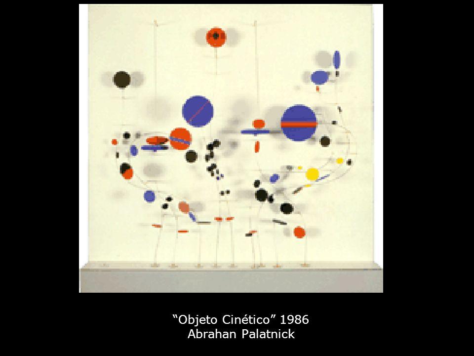 Objeto Cinético 1986 Abrahan Palatnick