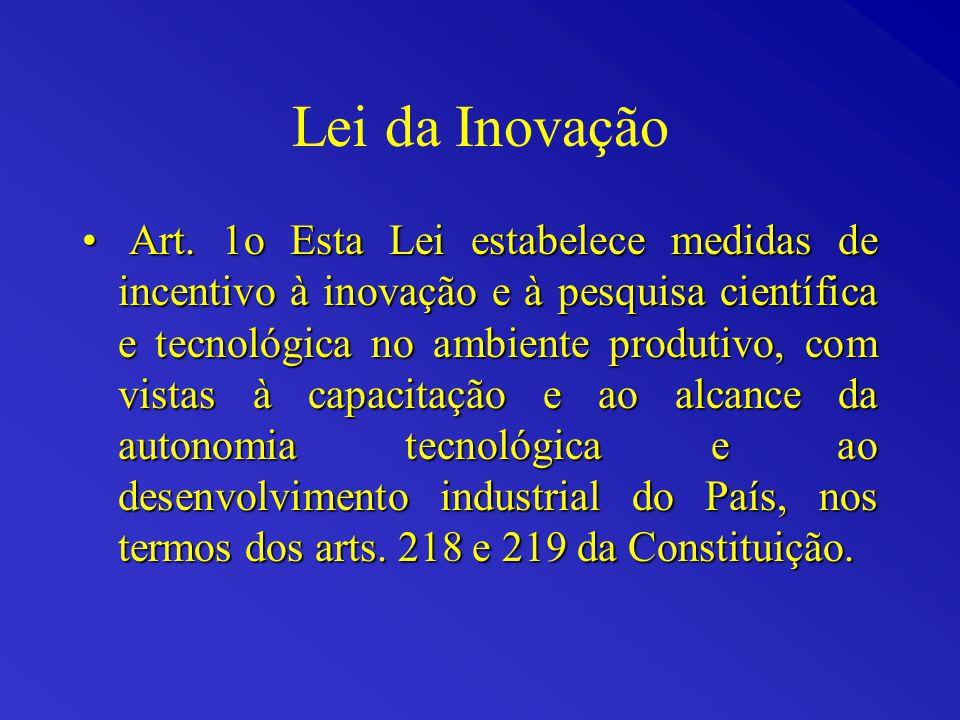 Lei da Inovação