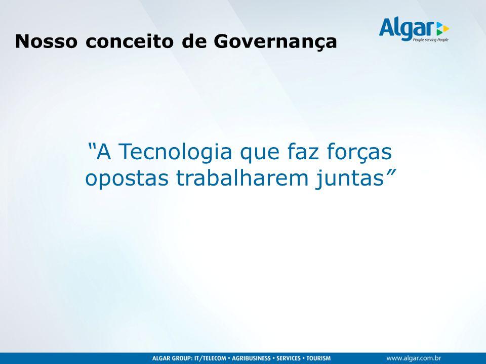 Nosso conceito de Governança