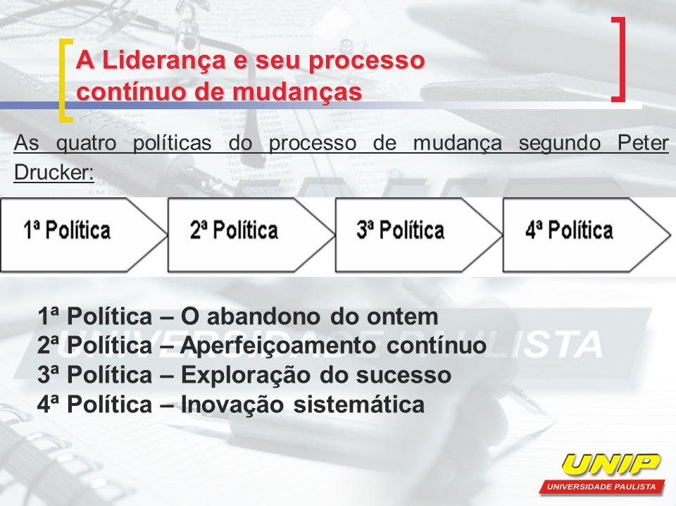 A Liderança e seu processo contínuo de mudanças