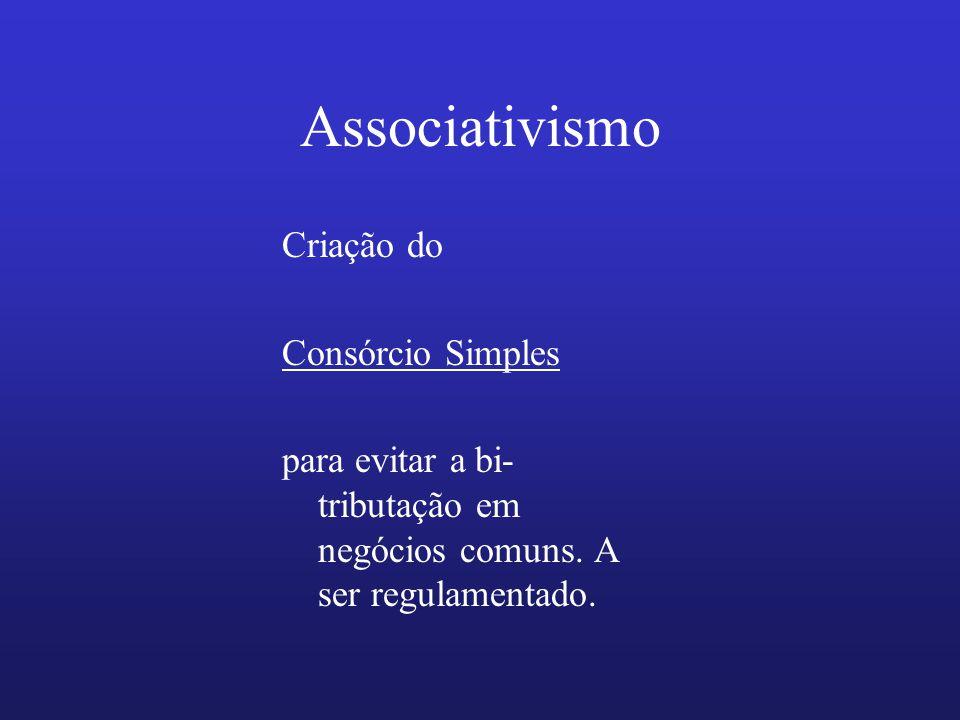 Associativismo Criação do Consórcio Simples