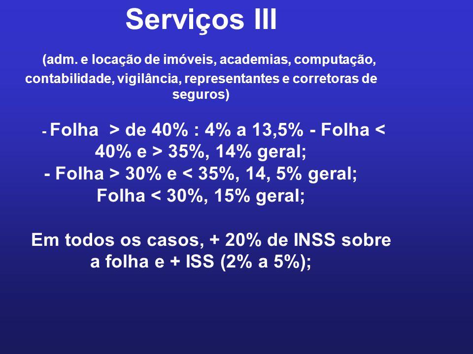 Serviços III (adm.
