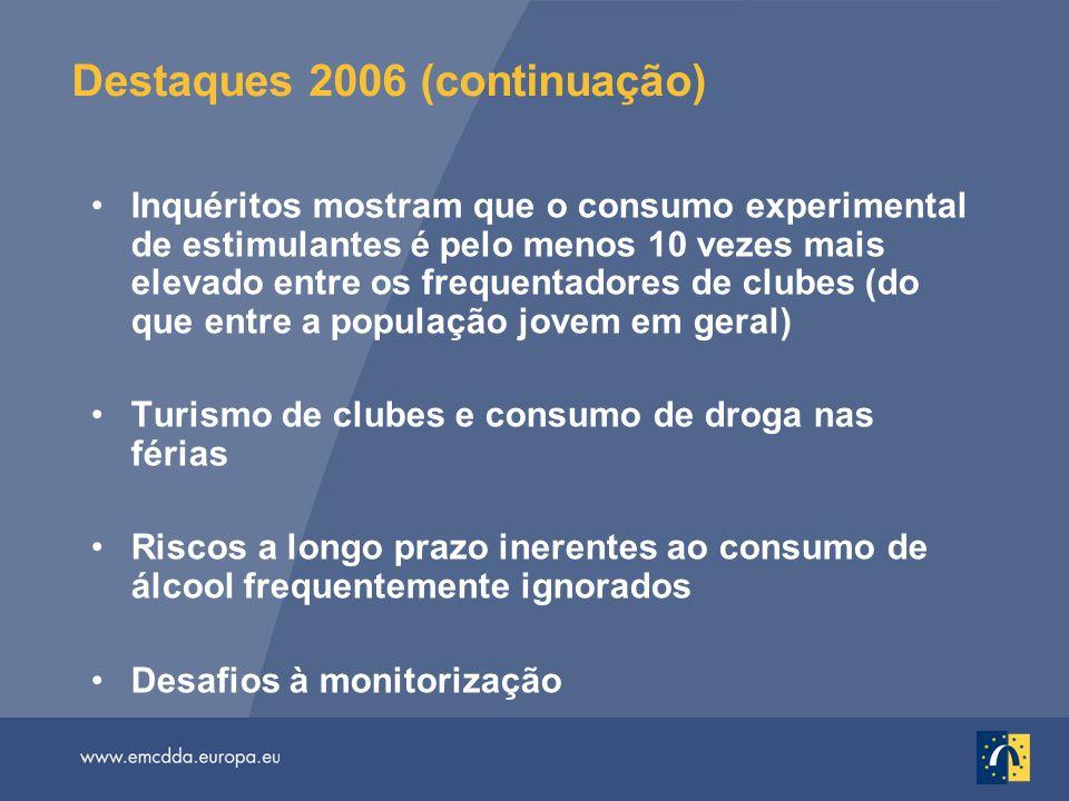 Destaques 2006 (continuação)