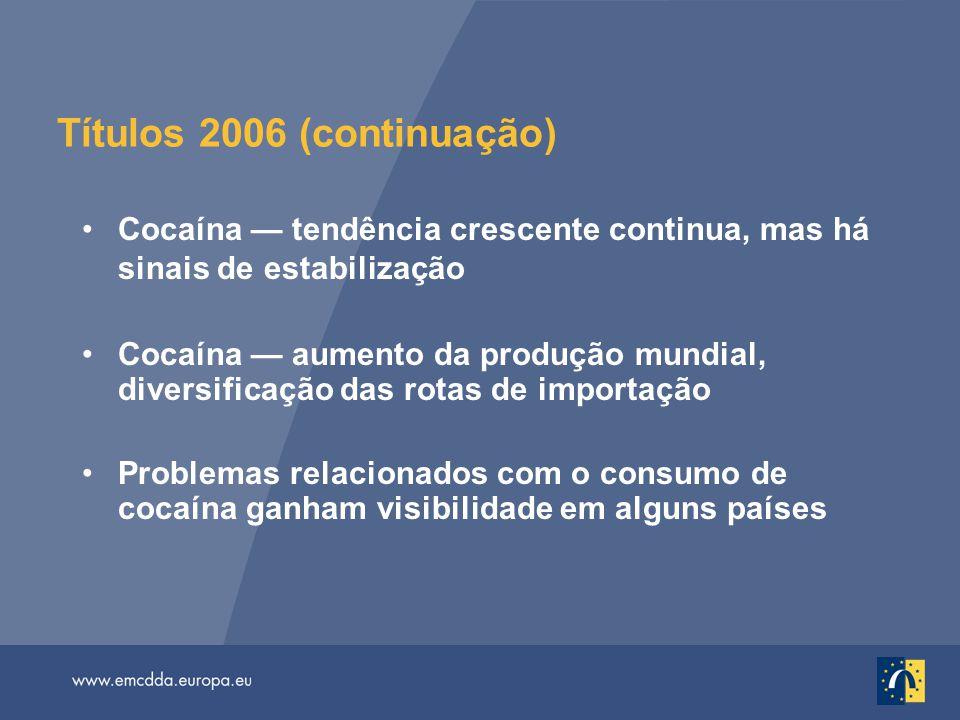 Títulos 2006 (continuação)