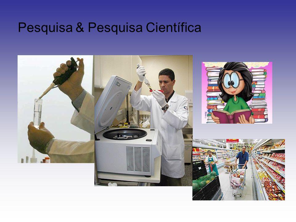 Pesquisa & Pesquisa Científica