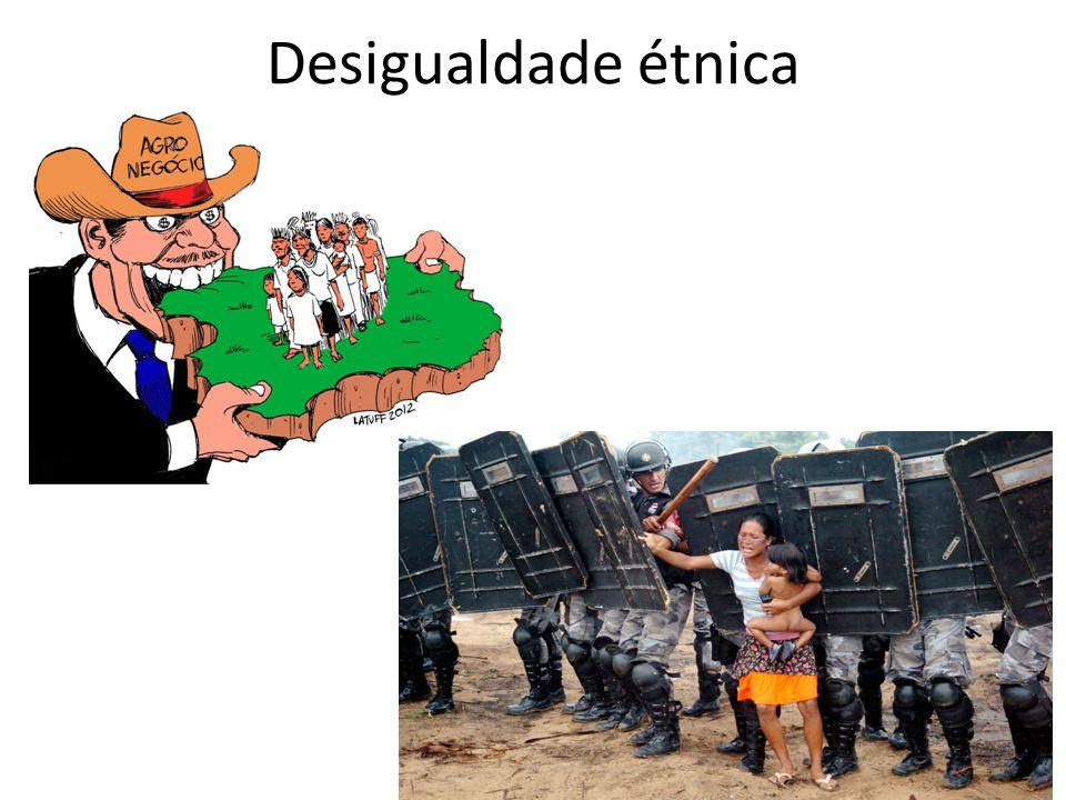 Desigualdade étnica