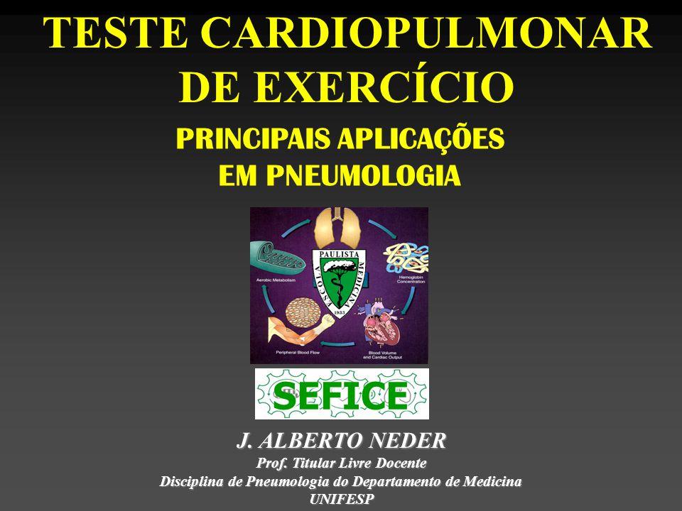 TESTE CARDIOPULMONAR DE EXERCÍCIO