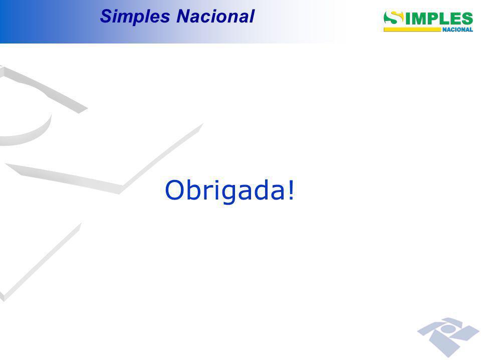 Obrigada! Simples Nacional 00:00: