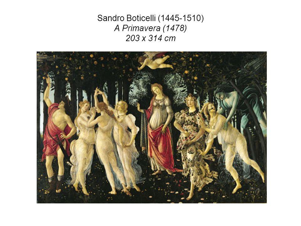 Sandro Boticelli (1445-1510) A Primavera (1478) 203 x 314 cm