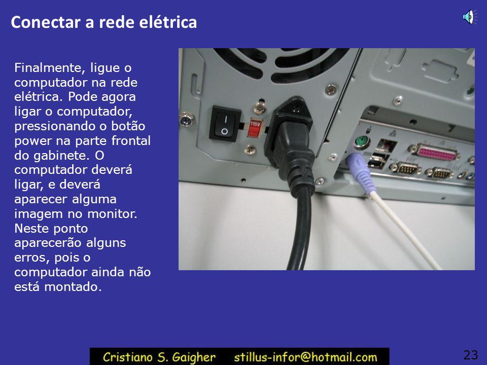 Conectar a rede elétrica