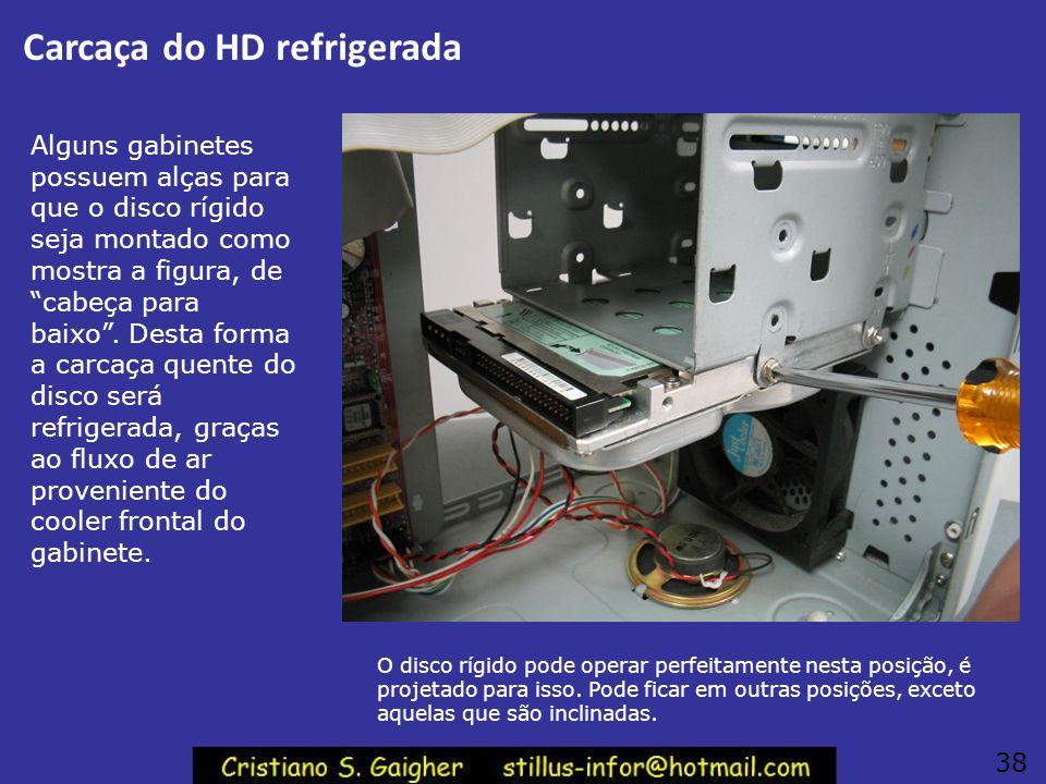 Carcaça do HD refrigerada