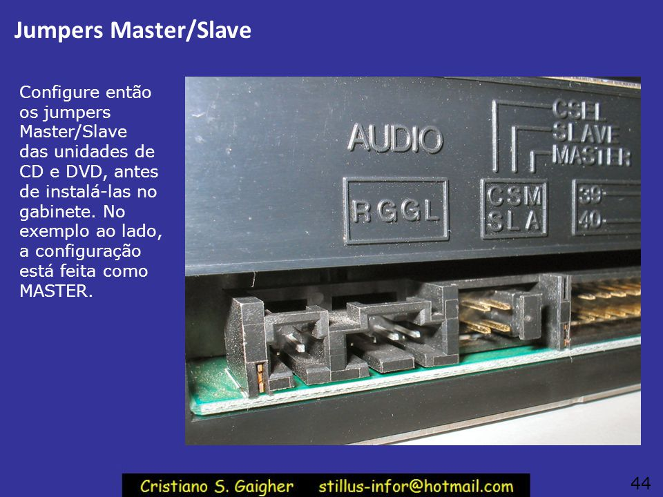 Jumpers Master/Slave