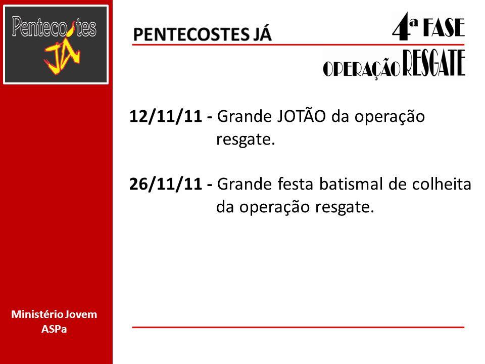 PENTECOSTES JÁ 12/11/11 - Grande JOTÃO da operação resgate.