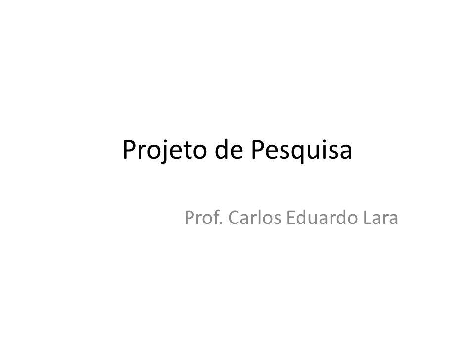 Prof. Carlos Eduardo Lara