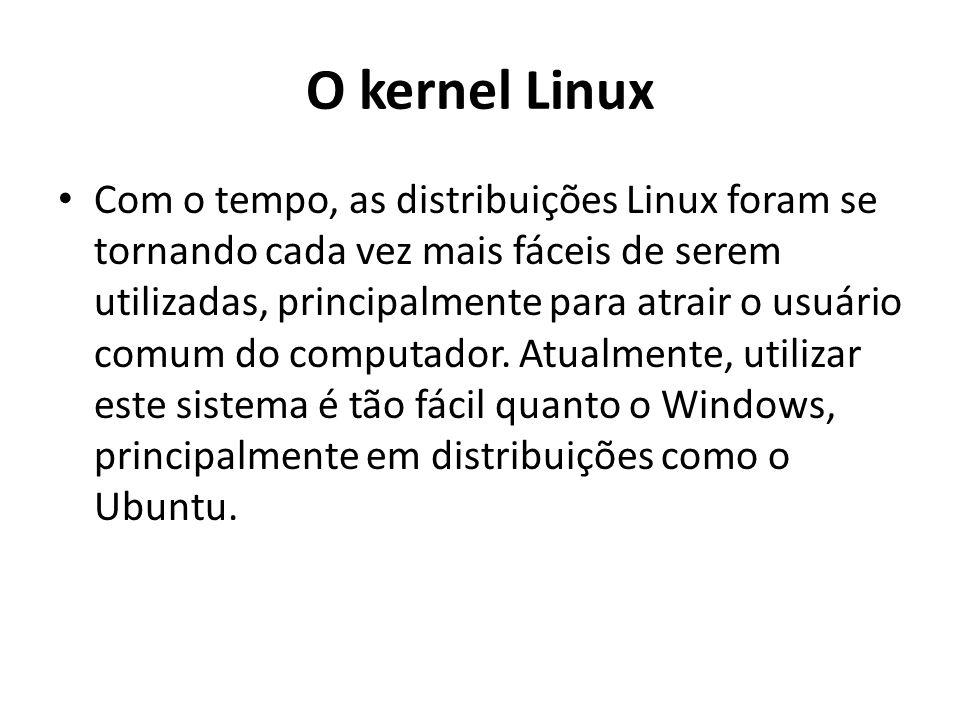 O kernel Linux