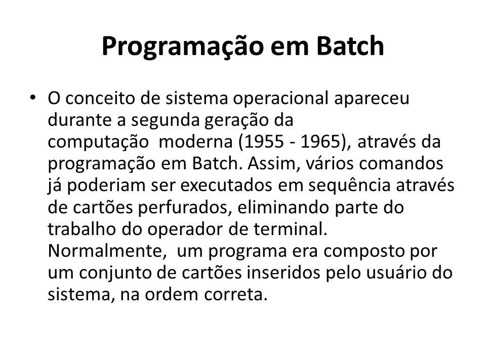 Programação em Batch