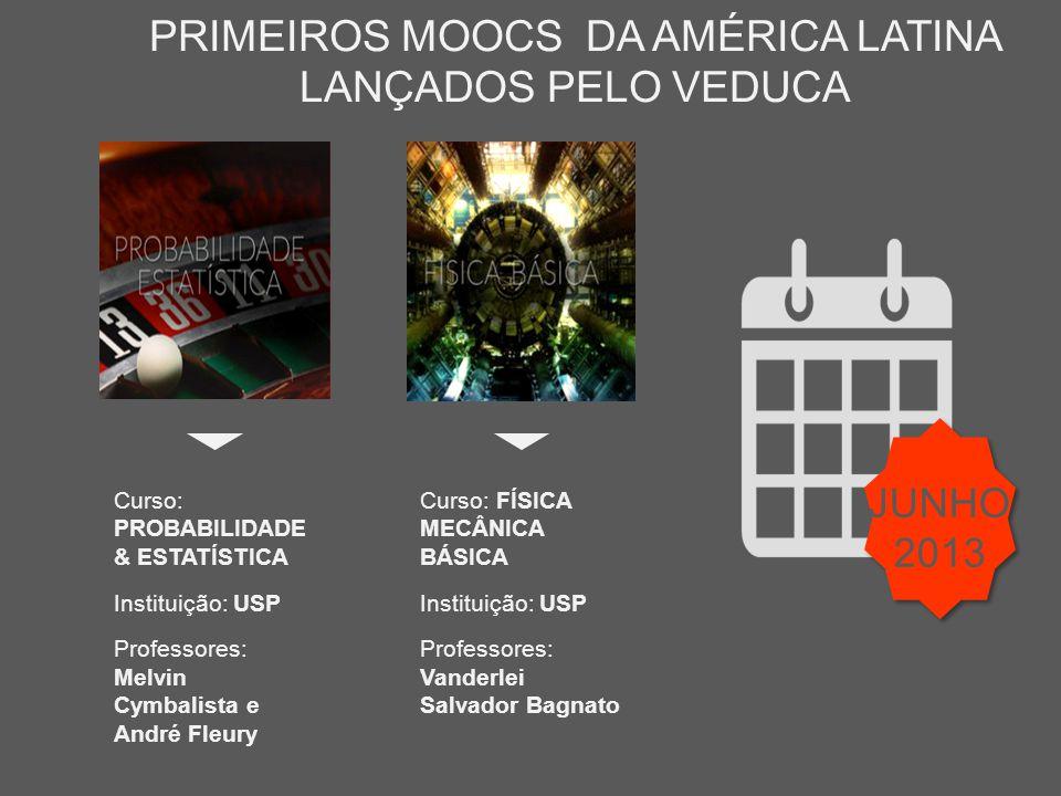 PRIMEIROS MOOCS DA AMÉRICA LATINA LANÇADOS PELO VEDUCA