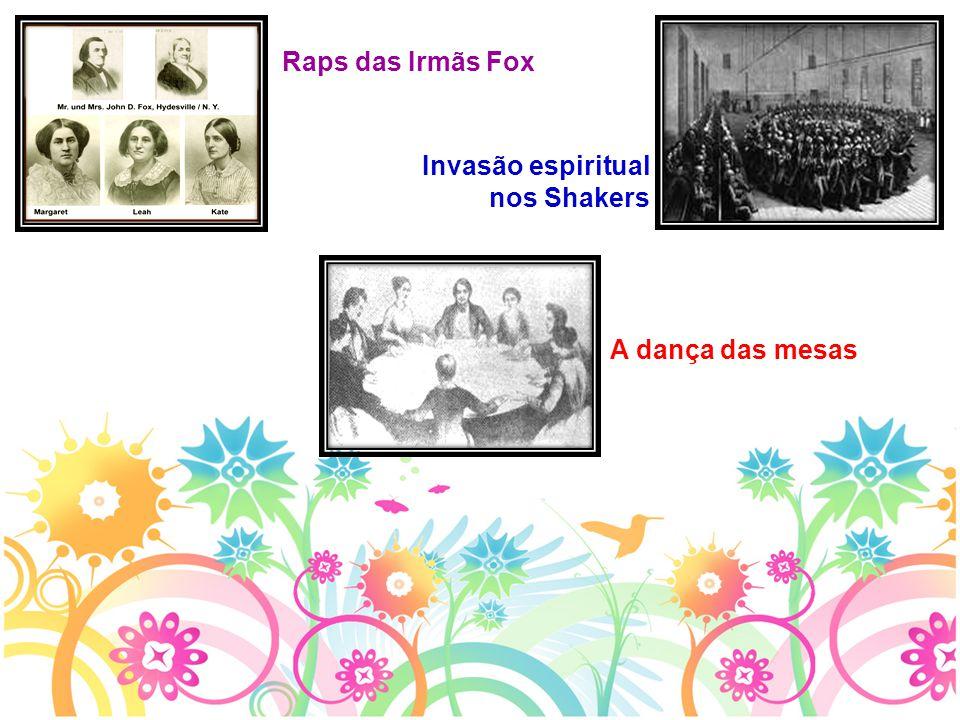 Raps das Irmãs Fox Invasão espiritual nos Shakers A dança das mesas