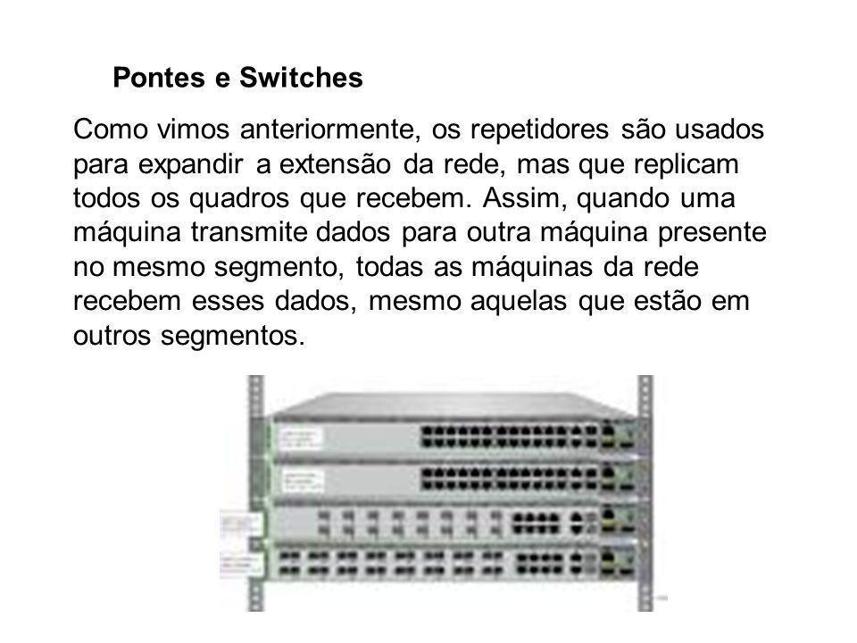 Pontes e Switches