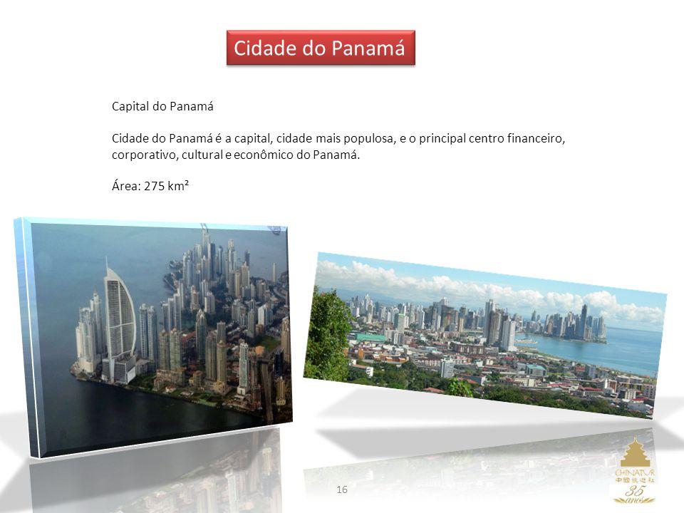 Cidade do Panamá Capital do Panamá