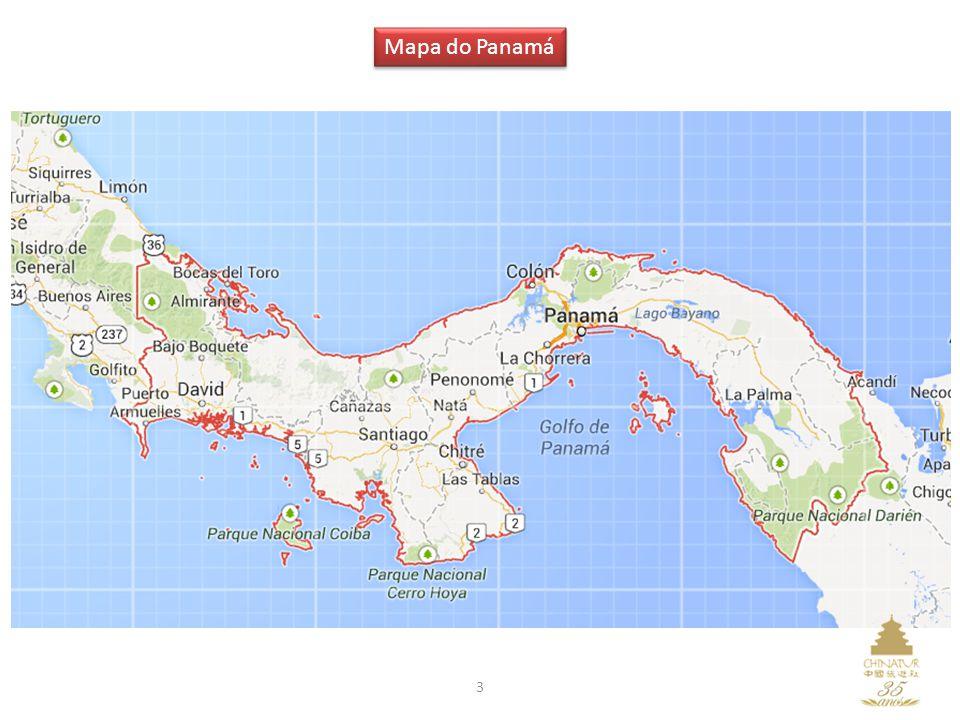 Mapa do Panamá 3
