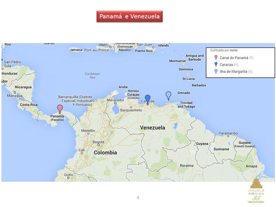Panamá e Venezuela 4