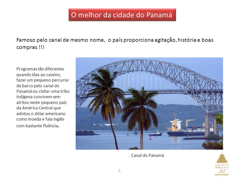 O melhor da cidade do Panamá