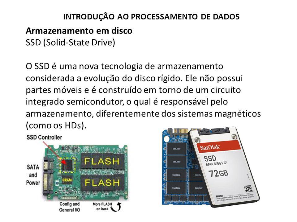 Armazenamento em disco SSD (Solid-State Drive)