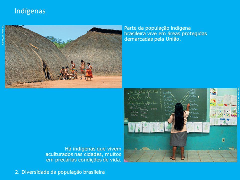 Indígenas Parte da população indígena brasileira vive em áreas protegidas demarcadas pela União. HAROLDO PALO JR.