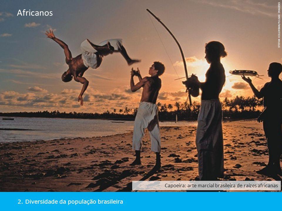 Africanos Capoeira: arte marcial brasileira de raízes africanas