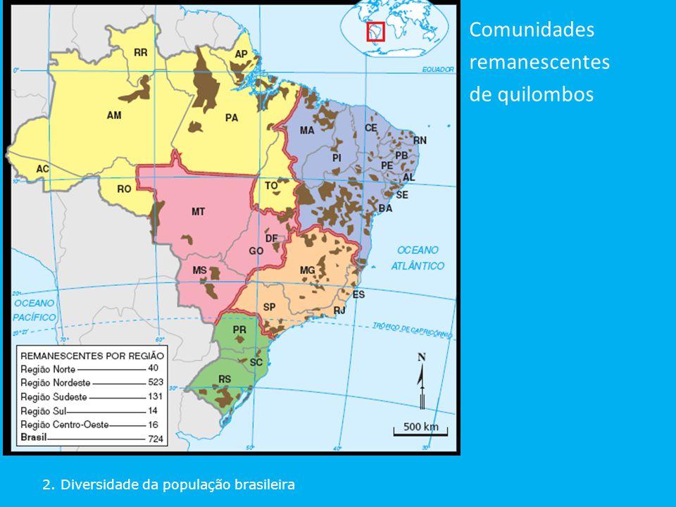 Comunidades remanescentes de quilombos