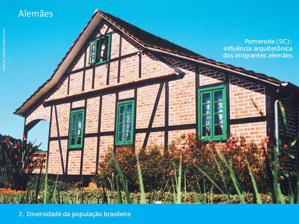 Alemães Pomerode (SC): influência arquitetônica dos imigrantes alemães. ROSICLER RIEGER/FERRO FOTOS.