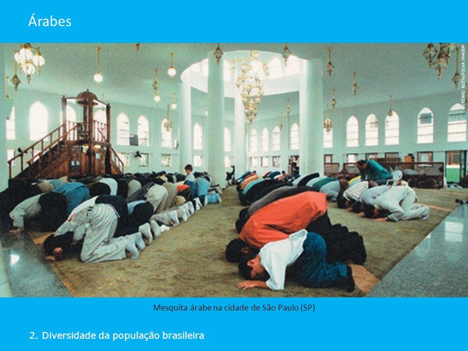Mesquita árabe na cidade de São Paulo (SP)