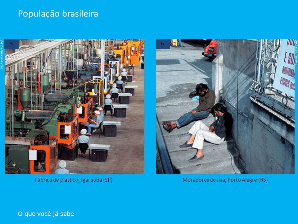 População brasileira 5 6 Fábrica de plástico, Igaratiba (SP)