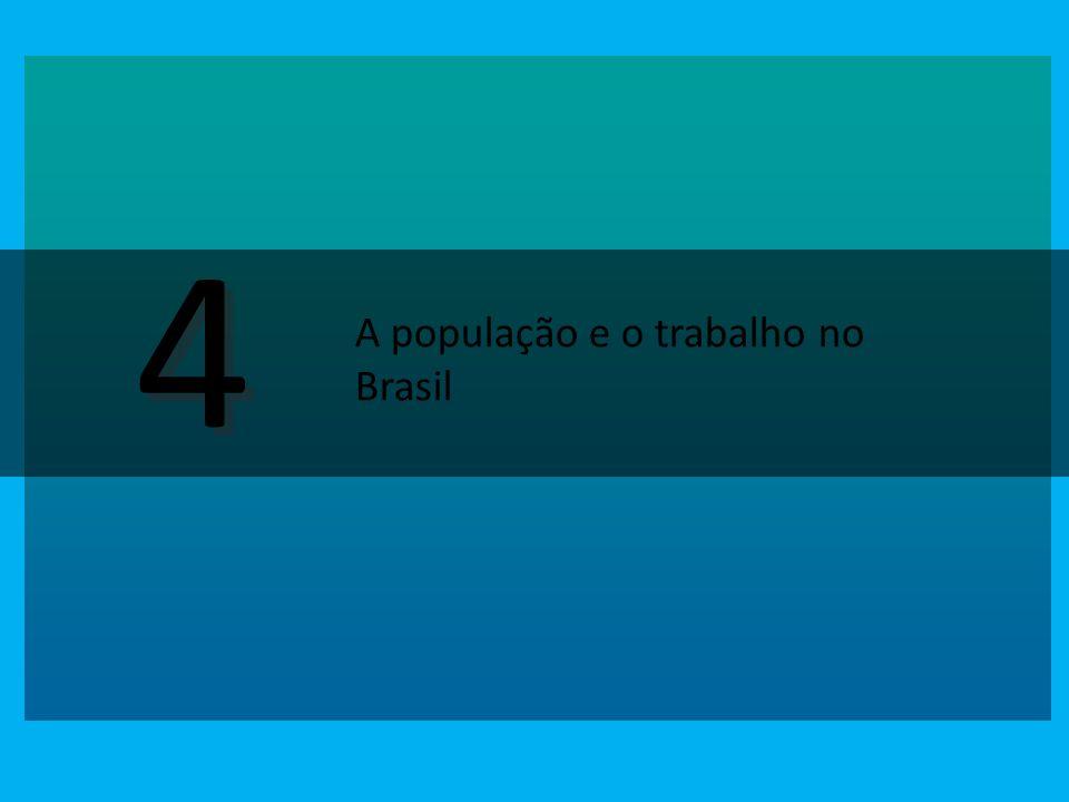 4 A população e o trabalho no Brasil