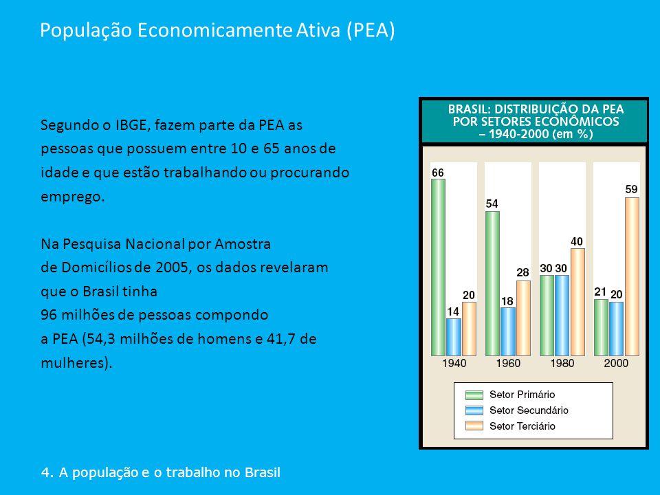 População Economicamente Ativa (PEA)