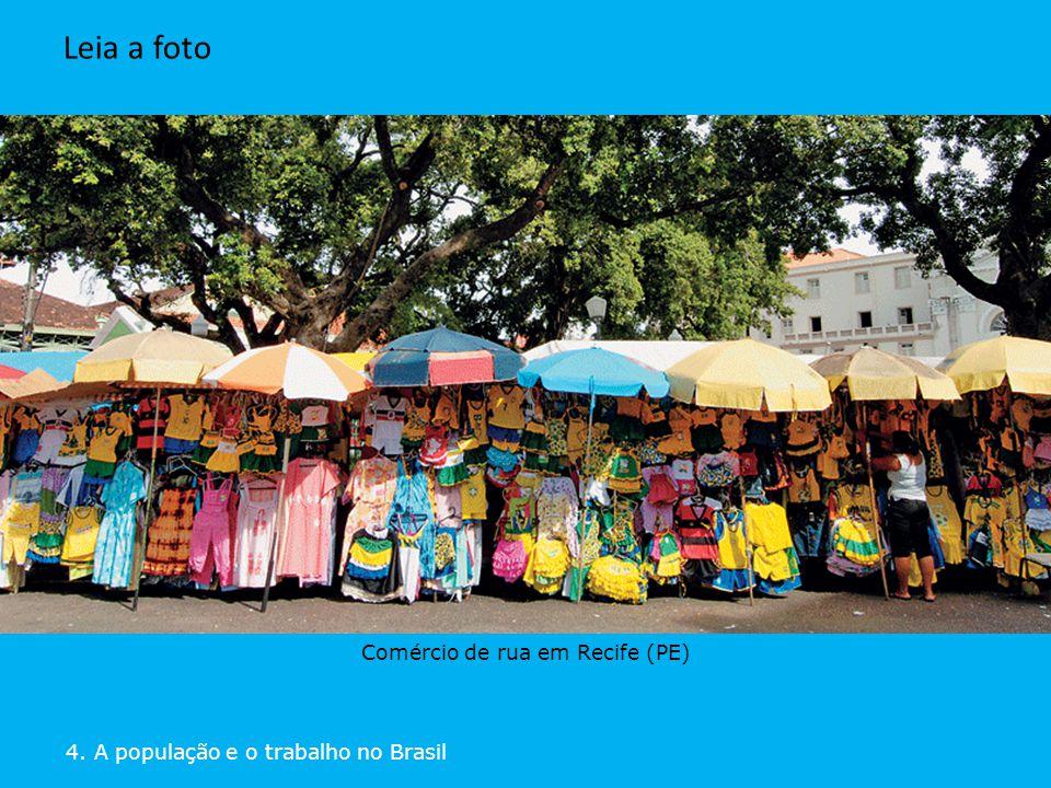 Comércio de rua em Recife (PE)