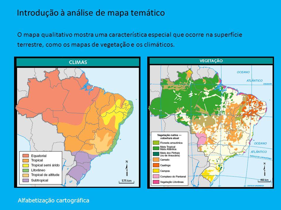Introdução à análise de mapa temático